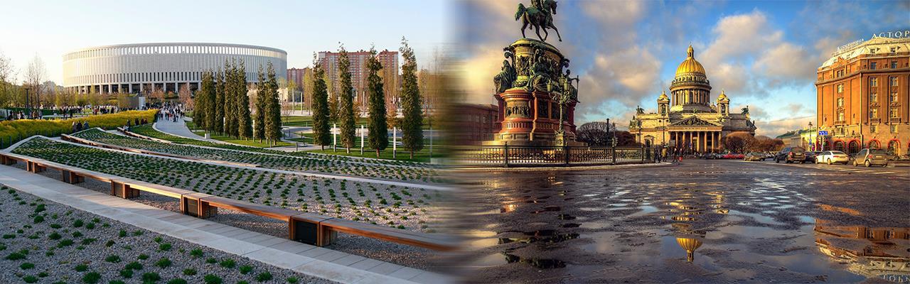 Переезд из Краснодара в Санкт-Петербург
