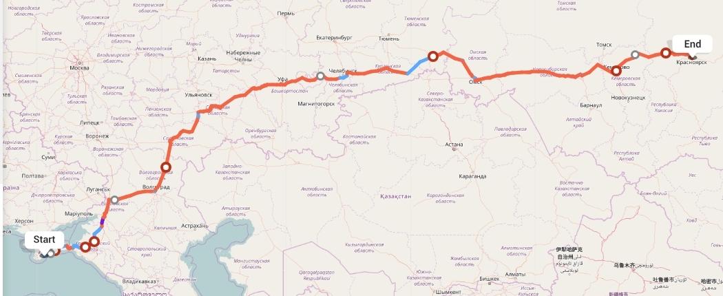 Переезд из Алушты в Красноярск