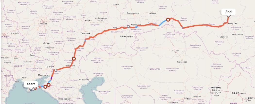 Переезд из Алушты в Томск