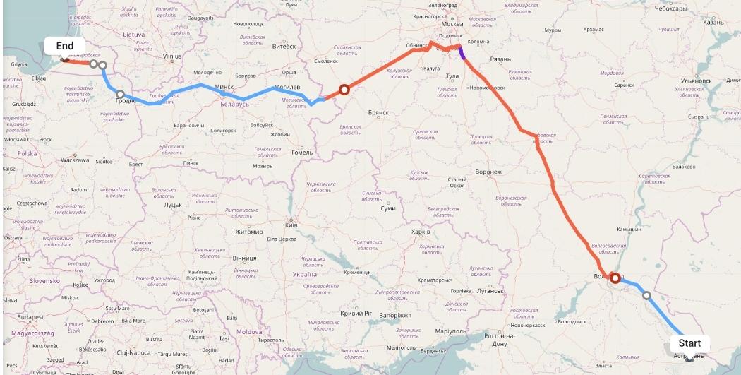 Переезд из Астрахани в Калининград