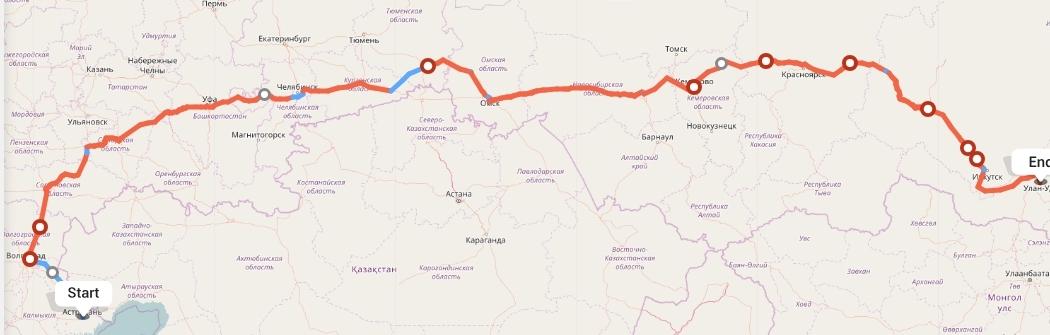 Переезд из Астрахани в Улан-Удэ