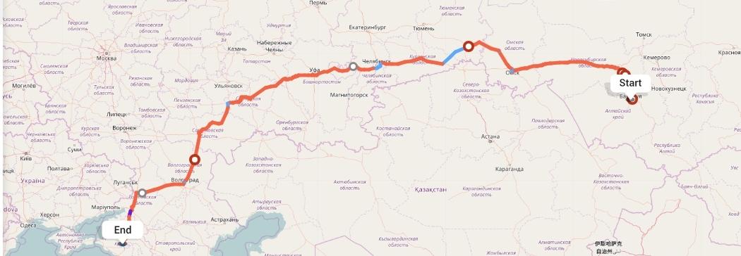 Переезд из Барнаула в Краснодар