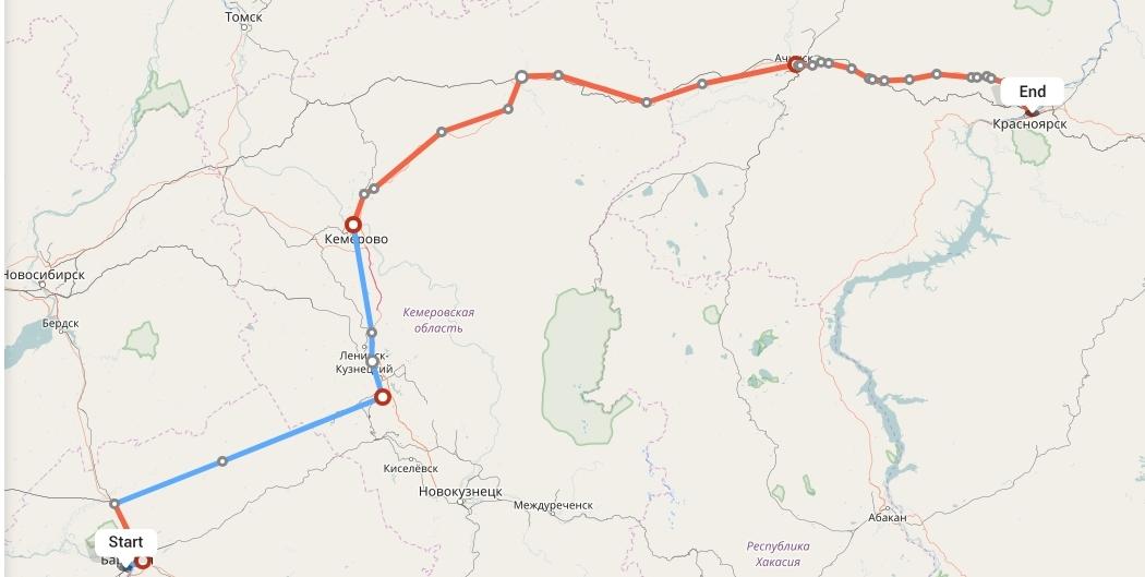 Переезд из Барнаула в Красноярск