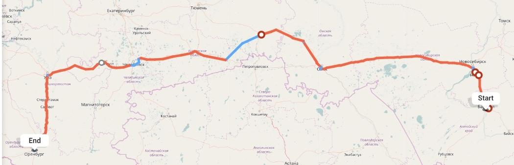 Переезд из Барнаула в Оренбург