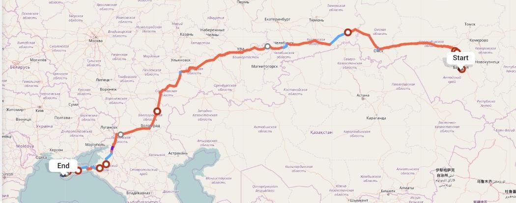Переезд из Барнаула в Севастополь