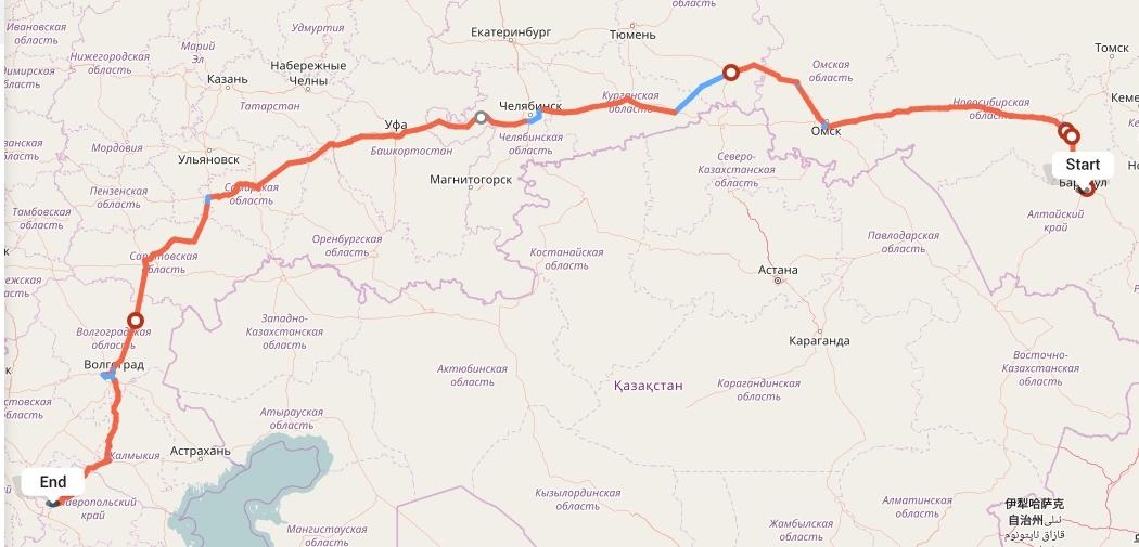 Переезд из Барнаула в Ставрополь