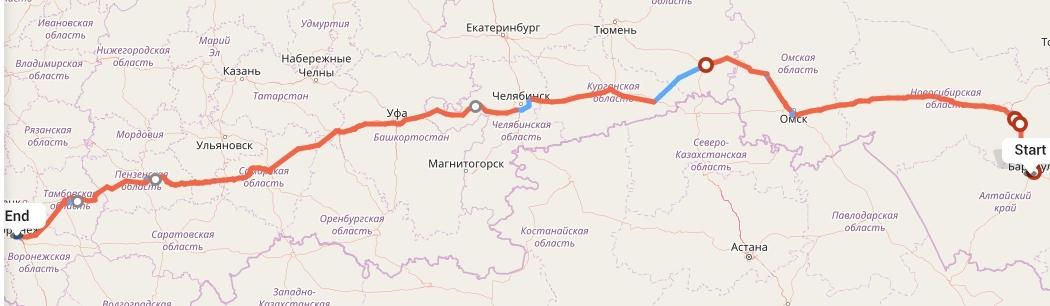 Переезд из Барнаула в Воронеж