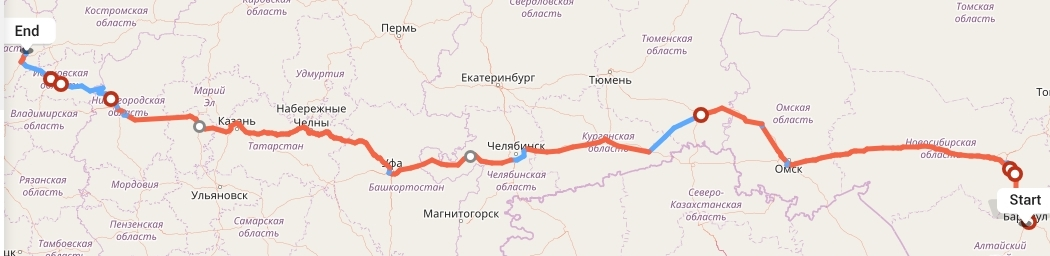 Переезд из Барнаула в Ярославль