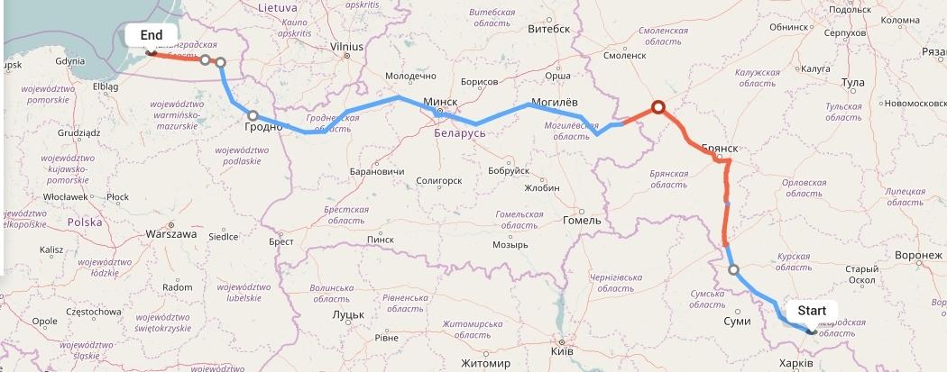 Переезд из Белгорода в Калининград