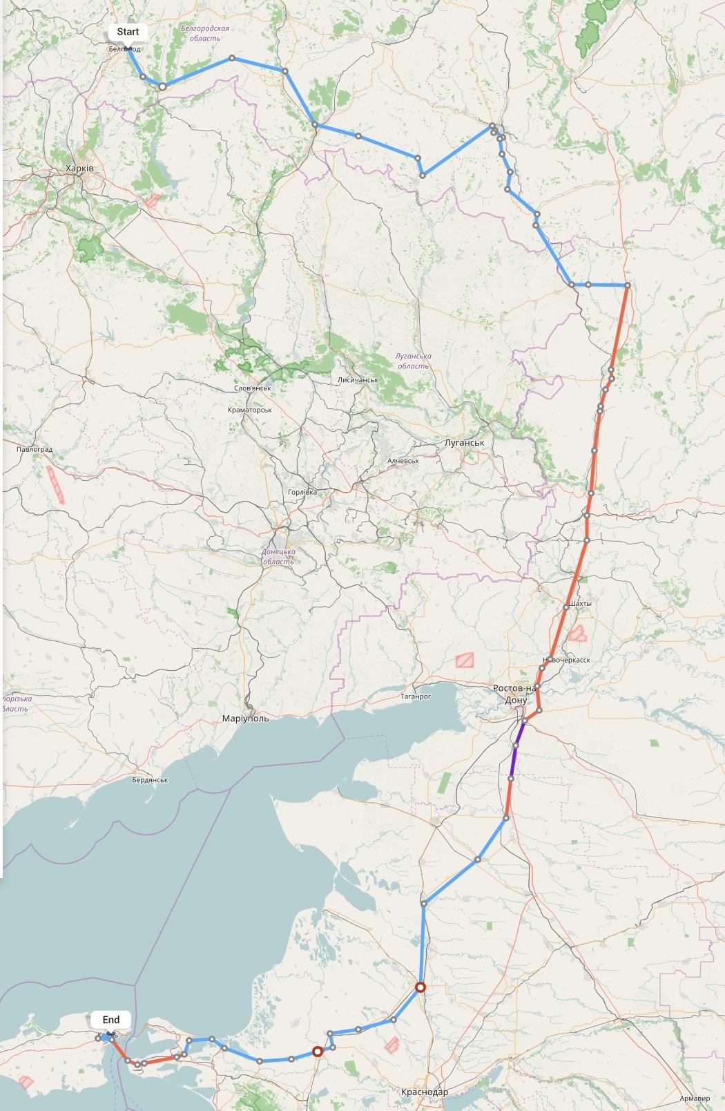 Переезд из Белгорода в Крым