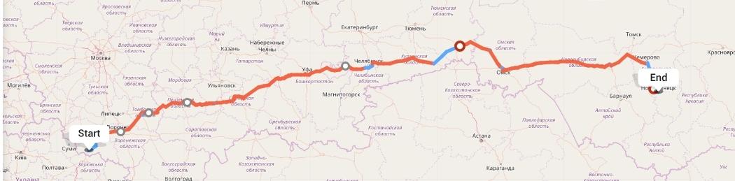 Переезд из Белгорода в Новокузнецк