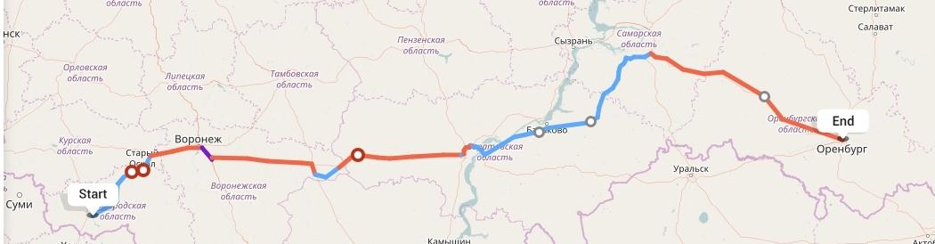 Переезд из Белгорода в Оренбург