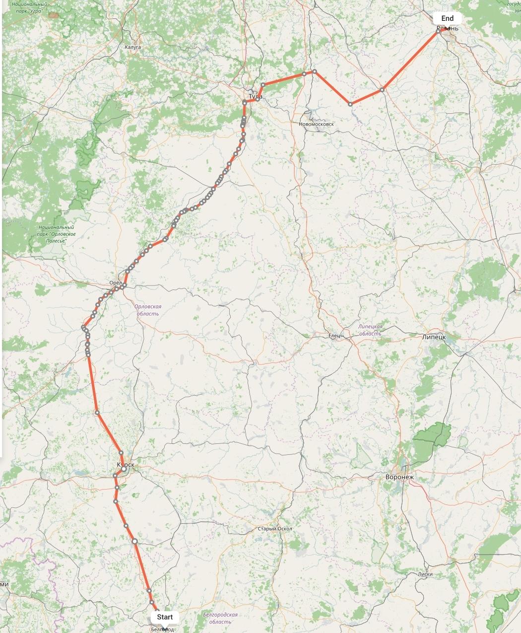 Переезд из Белгорода в Рязань