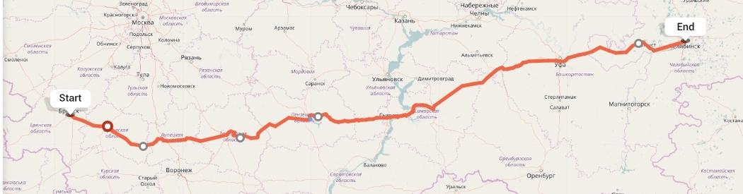 Переезд из Брянска в Челябинск