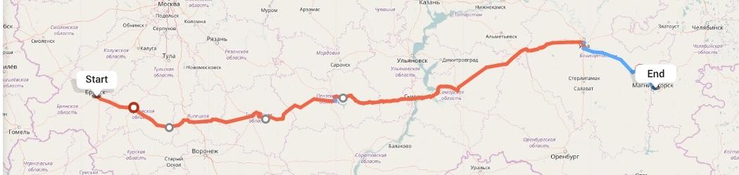 Переезд из Брянска в Магнитогорск