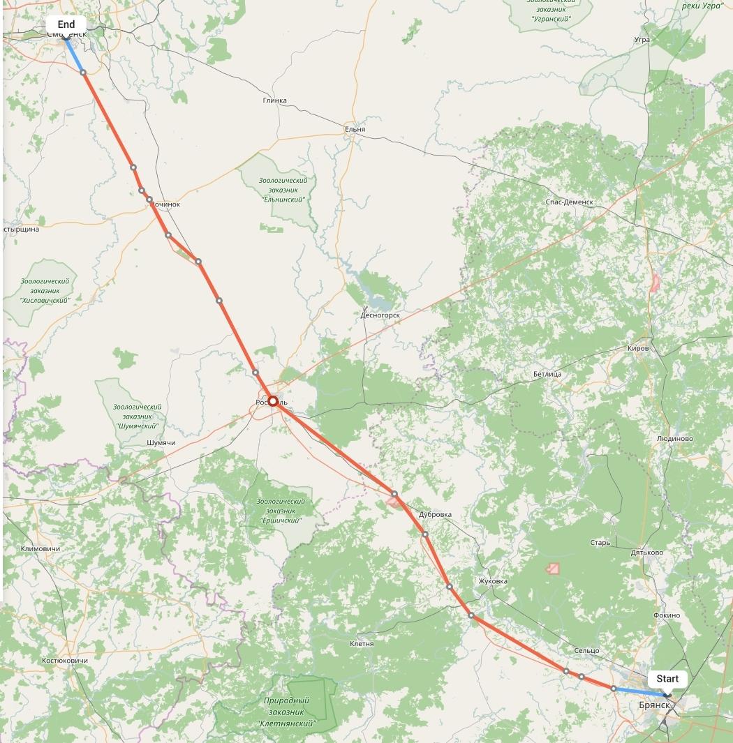 Переезд из Брянска в Смоленск