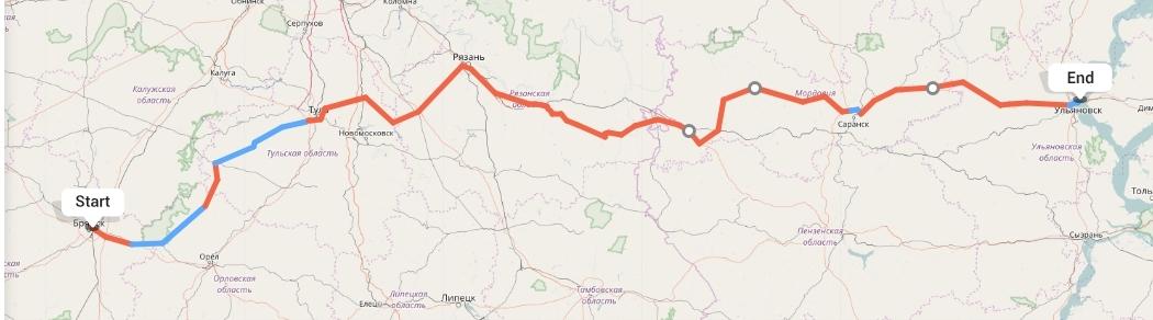 Переезд из Брянска в Ульяновск