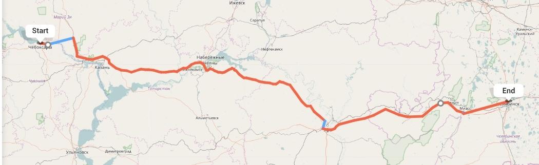 Переезд из Чебоксар в Челябинск