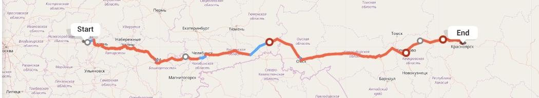 Переезд из Чебоксар в Красноярск