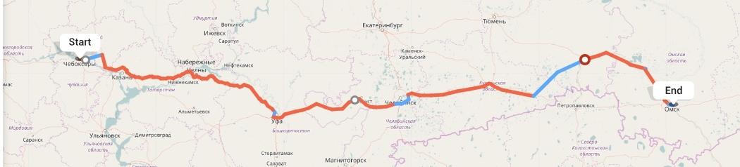 Переезд из Чебоксар в Омск