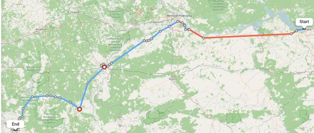 Переезд из Чебоксар в Рязань