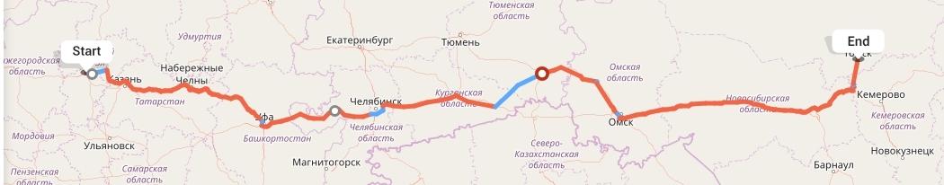 Переезд из Чебоксар в Томск
