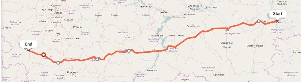 Переезд из Челябинска в Брянск