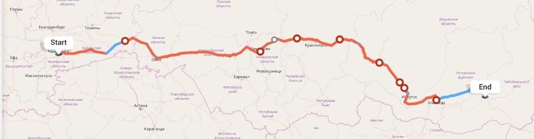 Переезд из Челябинска в Читу