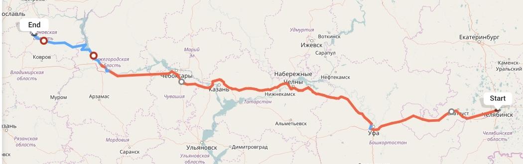 Переезд из Челябинска в Иваново