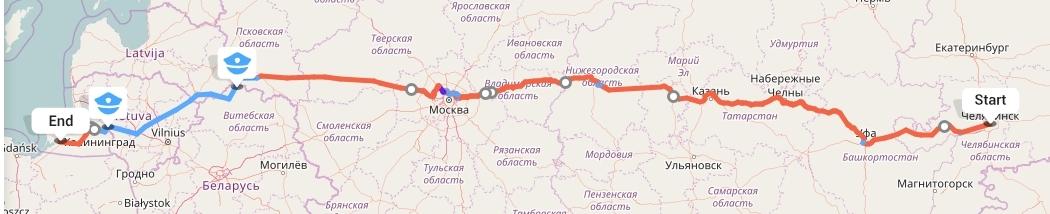 Переезд из Челябинска в Калининград