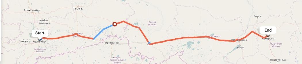 Переезд из Челябинска в Кемерово