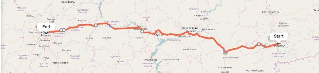 Переезд из Челябинска в Москву