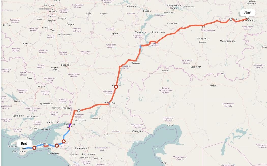 Переезд из Челябинска в Симферополь