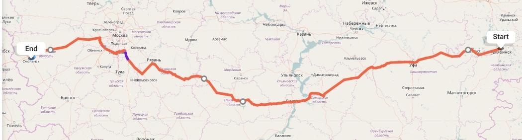 Переезд из Челябинска в Смоленск