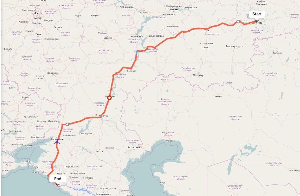 Переезд из Челябинска в Сочи