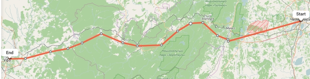 Переезд из Челябинска в Уфу