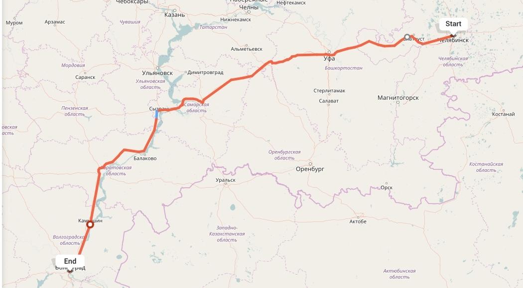 Переезд из Челябинска в Волгоград
