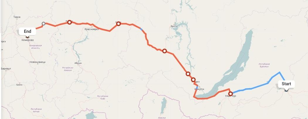 Переезд из Читы в Кемерово