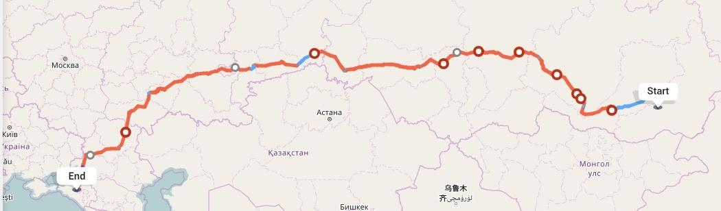 Переезд из Читы в Краснодар