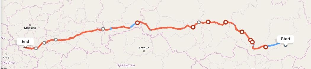Переезд из Читы в Курск