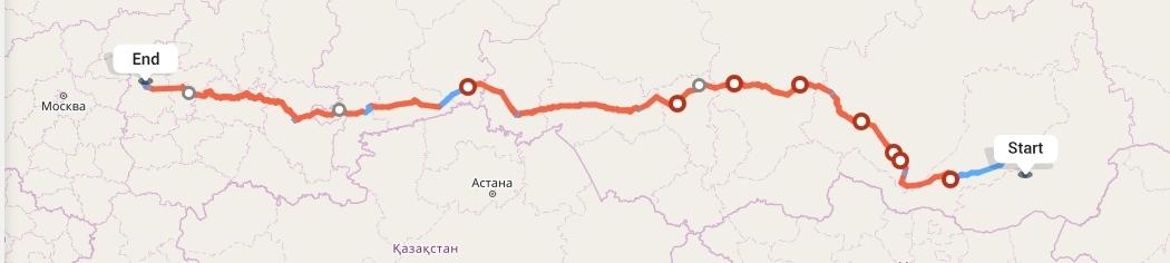 Переезд из Читы в Нижний Новгород