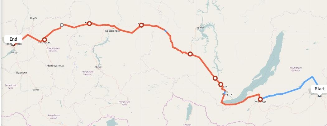 Переезд из Читы в Новосибирск