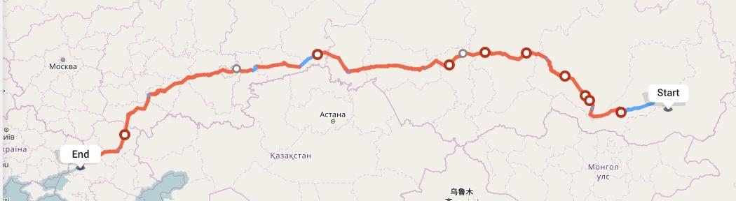 Переезд из Читы в Ростов-на-Дону