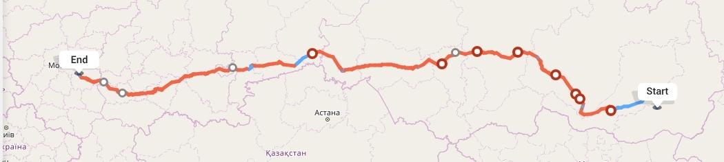 Переезд из Читы в Рязань