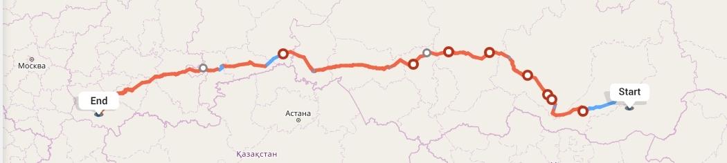 Переезд из Читы в Саратов