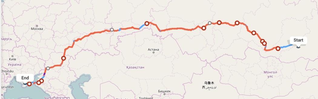 Переезд из Читы в Симферополь