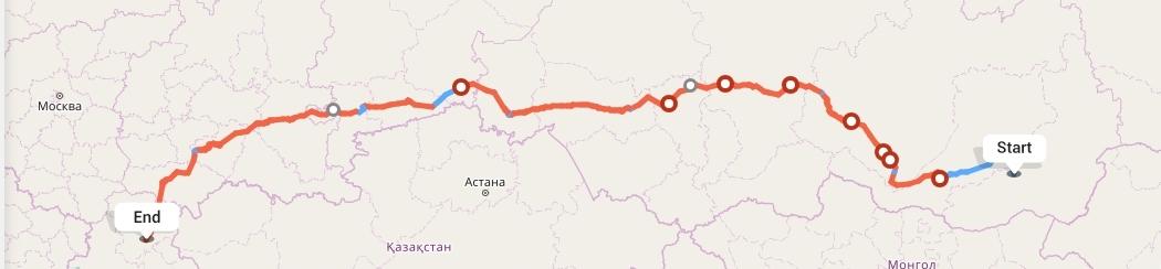 Переезд из Читы в Волгоград