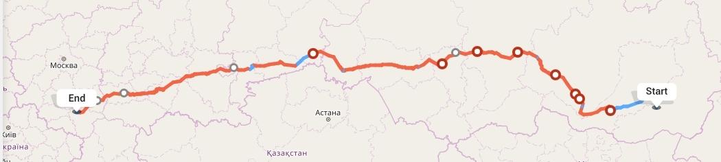 Переезд из Читы в Воронеж