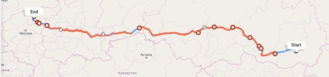 Переезд из Читы в Ярославль