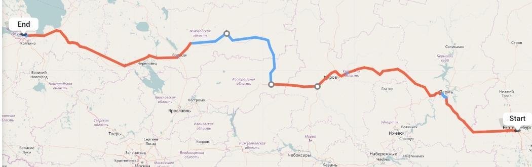 Переезд из Екатеринбурга в Санкт-Петербург